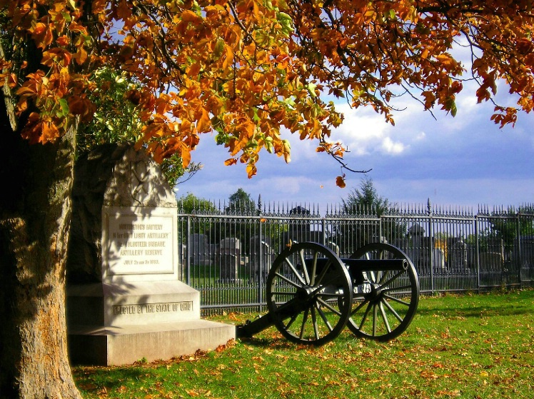 Fall at Gettysburg National Cemetery