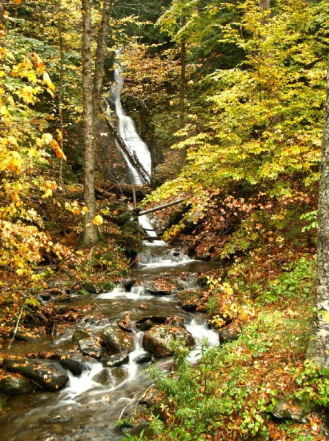 NH Creek waterfall