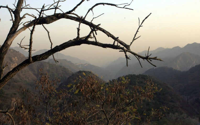 Evening Light at the Great Wall Overlook