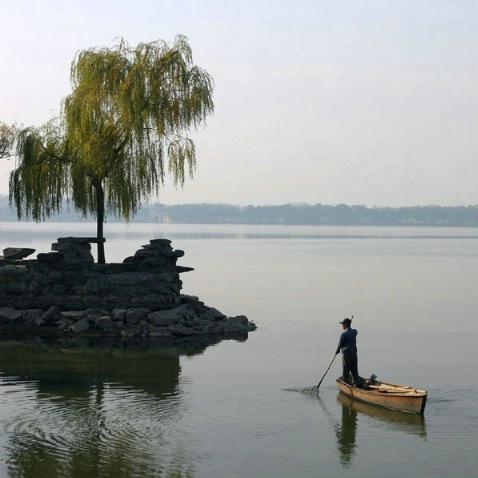 Morning Fishing at the Summer Palace