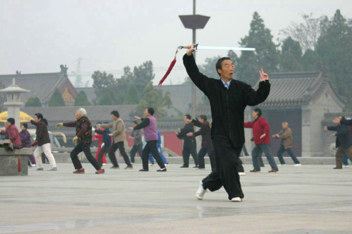 Tai Chi Master and the Sword