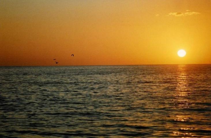 Bradenton Beach, Florida sunset.