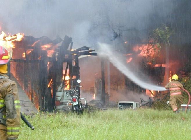 Fire, Bagdad Florida, 2002.