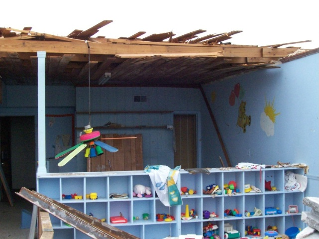 Hurricane Ivan strikes daycare