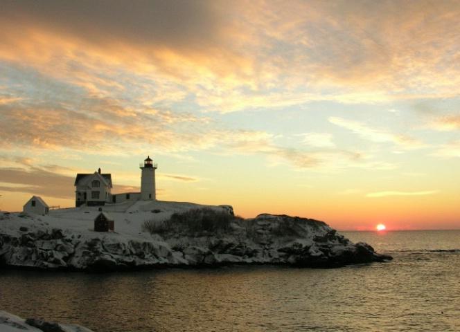Sunrise 2 Nubble Light Maine