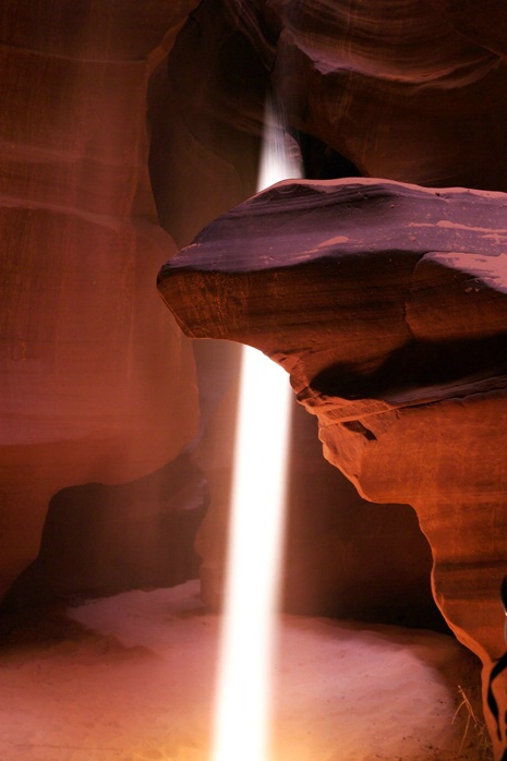 Upper Antelope Canyon Light Reflection