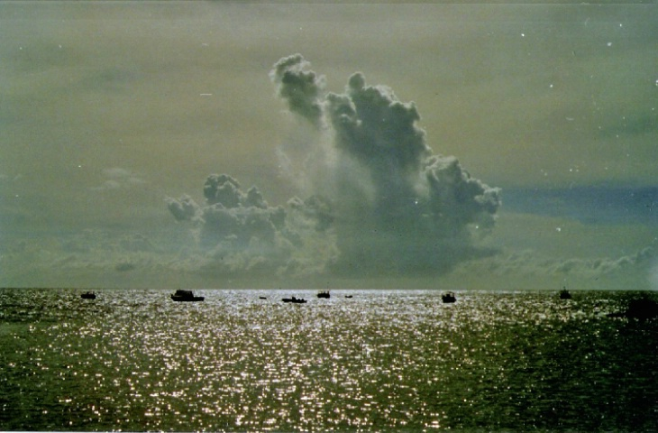 Saba storm