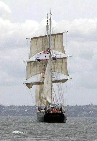Tall Ship Hauraki Gulf NZ