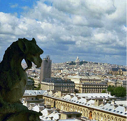 gargoyle from Paris