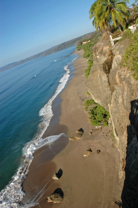 beach from Mirador