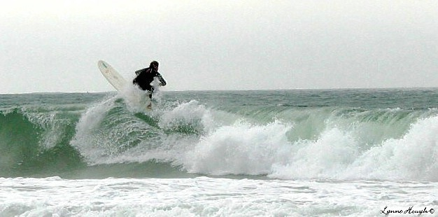 Surfer on the Storm