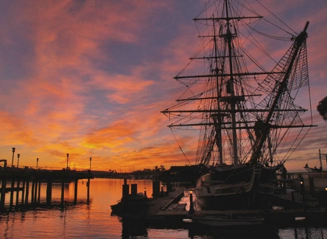 Brig Sunrise, DP Harbor