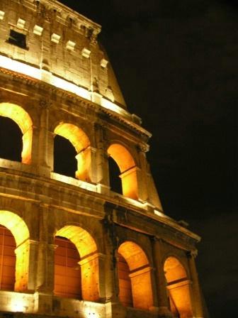 Colosseo night shot