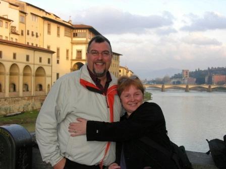Us on Ponte Vecchio