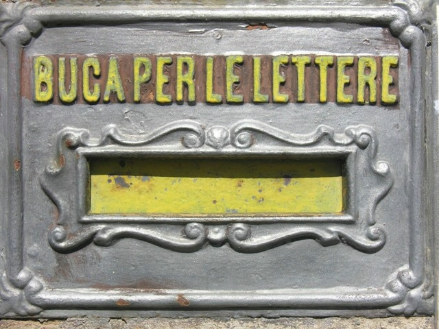"""Mouth for the Letter"" mailbox"
