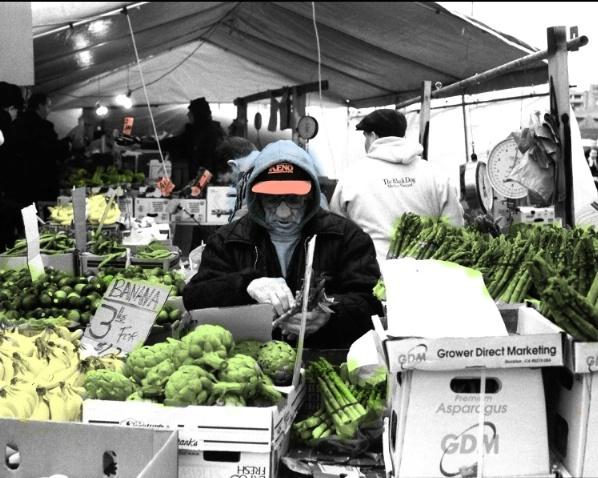 Vegetable Man,Quincy Market