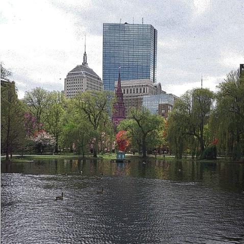 Signs of Spring, Boston Garden