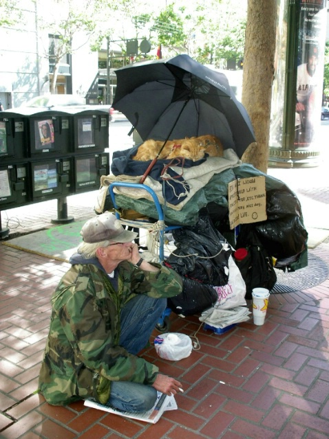 San Francisco street people