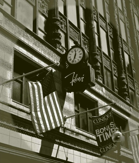 Traditions,Filene'sClock, Boston