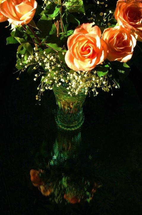 Living Room Roses