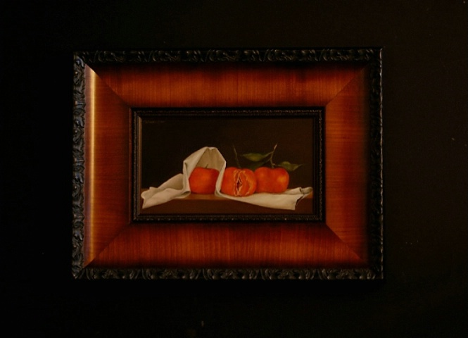 Tangerines after Peale