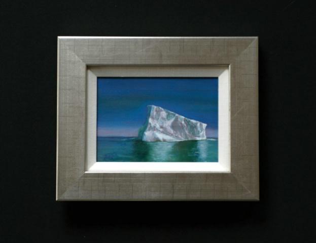 Iceberg at Dawn.  Antarctica