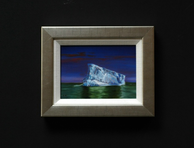 Iceberg at Sunset.  Antartica