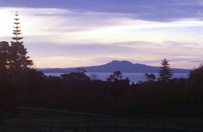 Rangitoto Island taken from Cleveton