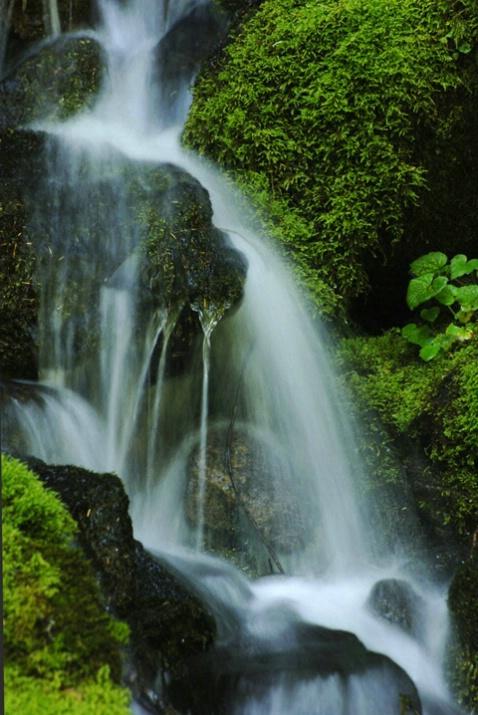 West Road Waterfall
