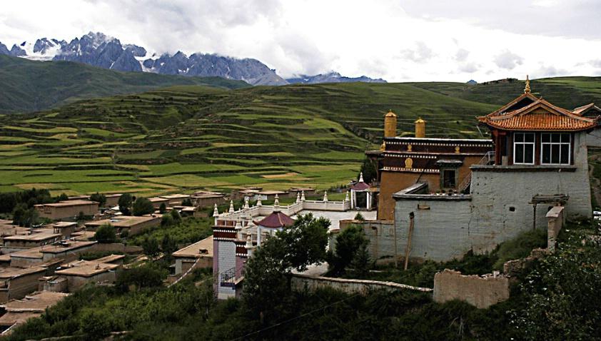 Tibetan City View
