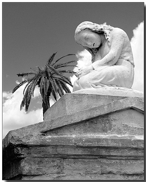 New Orleans Cemetery Monument