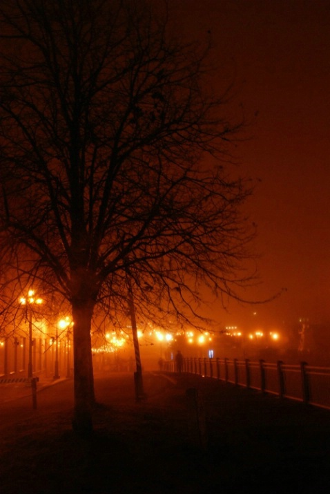 Foggy St. John