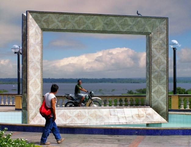 Iquitos Framed