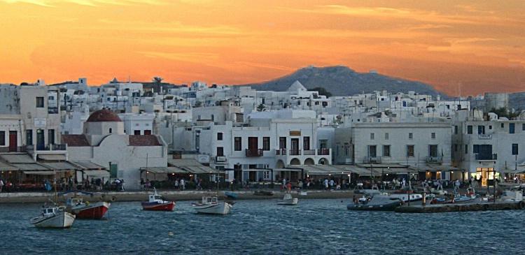 ISLAND OF MYKONOS, GREECE