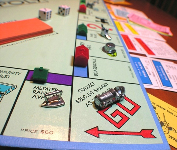 Monopoly on a rainy day