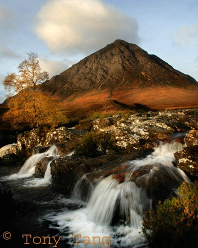 Glencoe in Autumn colours
