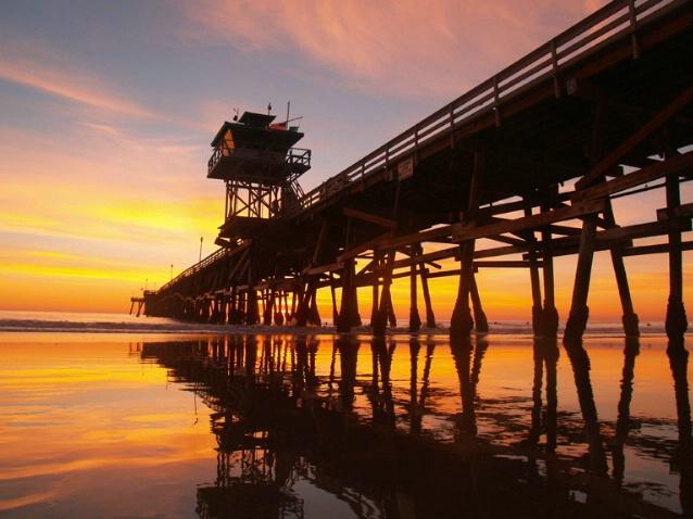 San Clemente Pier Sunset 11/06