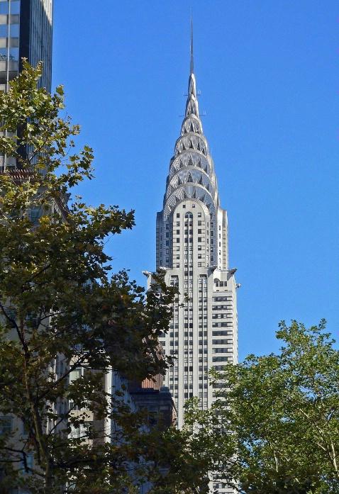 The Chrysler building, New York, NY