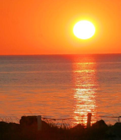 Pascua Sun Setting