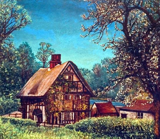 English Farm Home