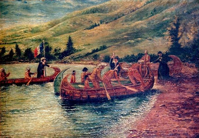 La Verendreye at Lebret, Qu'Appelle Valley