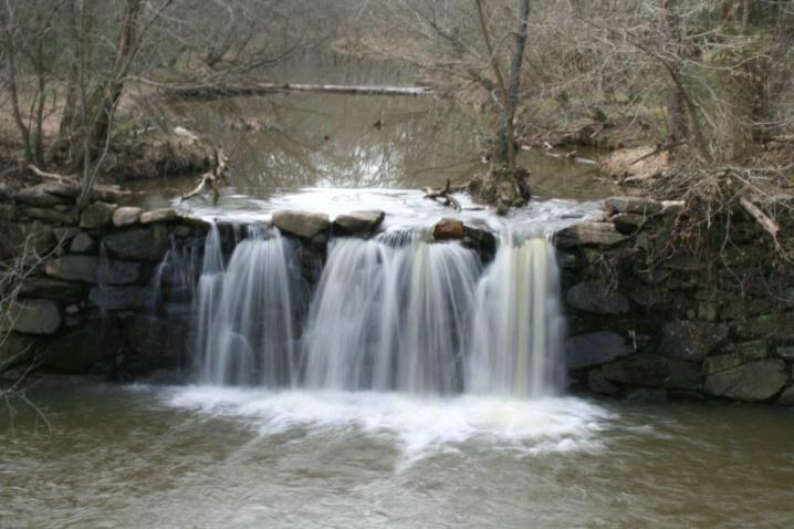 Waterfall at Snow Camp