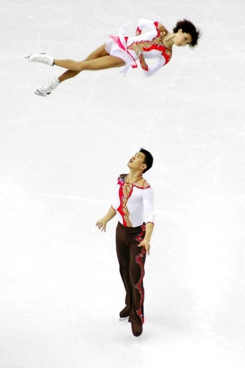 Torino 2006 - Chinese pair