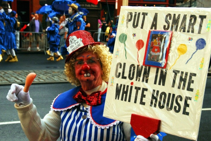 Clown Politician