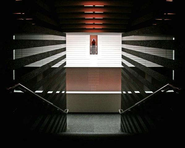 Stairway SFMOMA