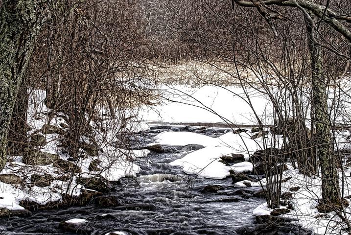 Hidden Stream in Winter