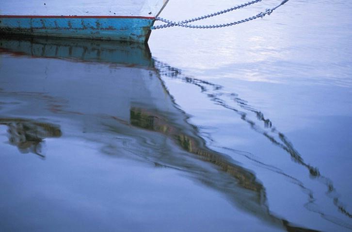St. Michael's Boat Reflection
