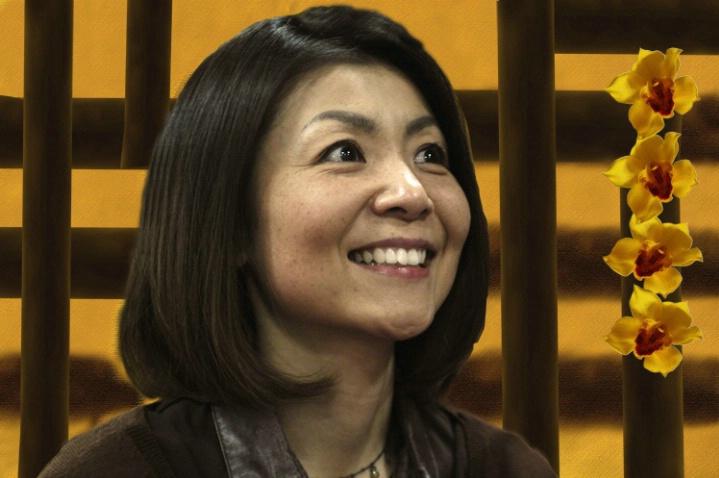 Japanese smile...