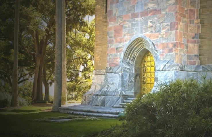 Mystical Castle Door