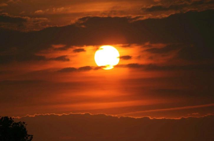 Glowing Sunset